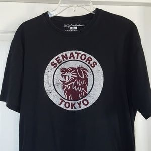 $$$ Wright and Ditson Tokyo senators t shirt